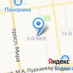 Хозяюшка на карте Южно-Сахалинска