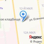 Магазин бижутерии и аксессуаров на карте Южно-Сахалинска