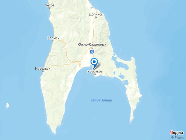 село Вторая Падь на карте