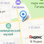 Почтовое отделение №10 на карте Южно-Сахалинска