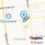 ONE SERVICE на карте Южно-Сахалинска