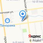 Областная стоматологическая поликлиника на карте Южно-Сахалинска