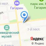 Дальневосточное Агентство Недвижимости на карте Южно-Сахалинска