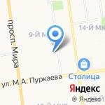 HIP-HOP MANUFACTORY на карте Южно-Сахалинска