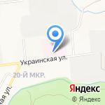 Дорожная больница на ст. Южно-Сахалинск на карте Южно-Сахалинска