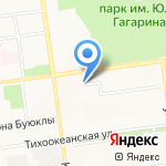 Потолок Элит Сервис на карте Южно-Сахалинска