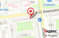 Схема проезда до компании Сахалин Медиа Информ в Южно-Сахалинске
