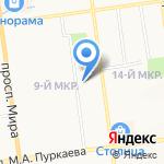 ЮжСтройКом на карте Южно-Сахалинска