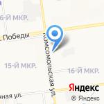 Детская музыкальная школа №5 на карте Южно-Сахалинска