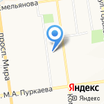 Центр детекции лжи на карте Южно-Сахалинска