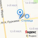 Новый на карте Южно-Сахалинска