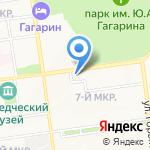 АвиасалонЪ на карте Южно-Сахалинска