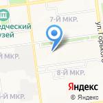 АгатСвязьСтрой на карте Южно-Сахалинска