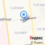 Магия на карте Южно-Сахалинска