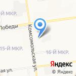 Сахалинский областной радиотелевизионный передающий центр на карте Южно-Сахалинска