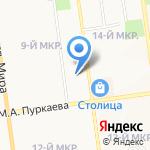Золушка на карте Южно-Сахалинска