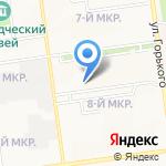 Детский сад №6 компенсирующего вида на карте Южно-Сахалинска