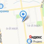 ЖЭУ-9 на карте Южно-Сахалинска