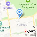 Рандеву на карте Южно-Сахалинска