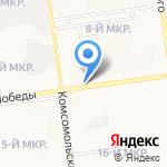 Лилит на карте Южно-Сахалинска