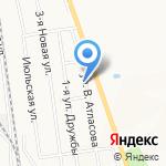 Сахалин Авто на карте Южно-Сахалинска