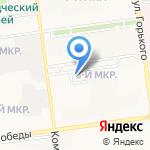 Сахресурс на карте Южно-Сахалинска