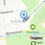 Гимназия №3 на карте Южно-Сахалинска
