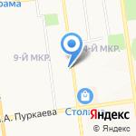 Линия Сервиса на карте Южно-Сахалинска