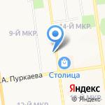 Арт-Классика+ на карте Южно-Сахалинска