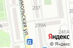 Схема проезда до компании Гильдия в Южно-Сахалинске