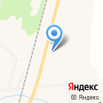Рабочий-3 на карте Южно-Сахалинска