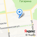 СТРОЙПРОГРЕСС на карте Южно-Сахалинска