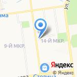 Зоомир на карте Южно-Сахалинска