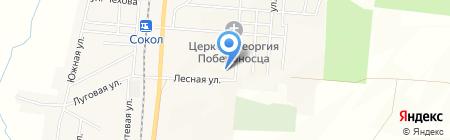 Средняя общеобразовательная школа на карте Старорусского