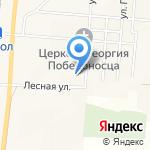 Средняя общеобразовательная школа на карте Южно-Сахалинска