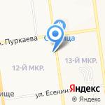 ЖЭУ-100 на карте Южно-Сахалинска