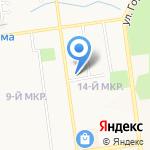 Золотой Теленок на карте Южно-Сахалинска