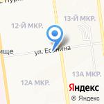 Нуга Бест на карте Южно-Сахалинска