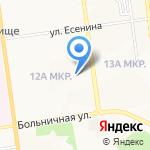 Российский союз молодежи на карте Южно-Сахалинска