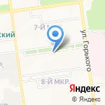 Стоматолог на карте Южно-Сахалинска
