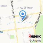 Сахалин СтройСнаб на карте Южно-Сахалинска