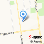Почтовое отделение №23 на карте Южно-Сахалинска