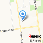 АвтоАкадемия на карте Южно-Сахалинска
