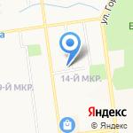 Вояж Сервис на карте Южно-Сахалинска