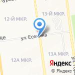 Ника на карте Южно-Сахалинска
