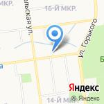 Кабинет добровольного медицинского страхования на карте Южно-Сахалинска