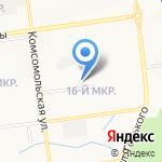 Сахалинский поисково-спасательный отряд им. В.А. Полякова на карте Южно-Сахалинска