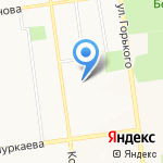 Народный департамент недвижимости на карте Южно-Сахалинска