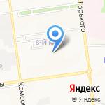 ЭКСИС на карте Южно-Сахалинска