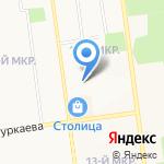 Весёлая продлёнка на карте Южно-Сахалинска